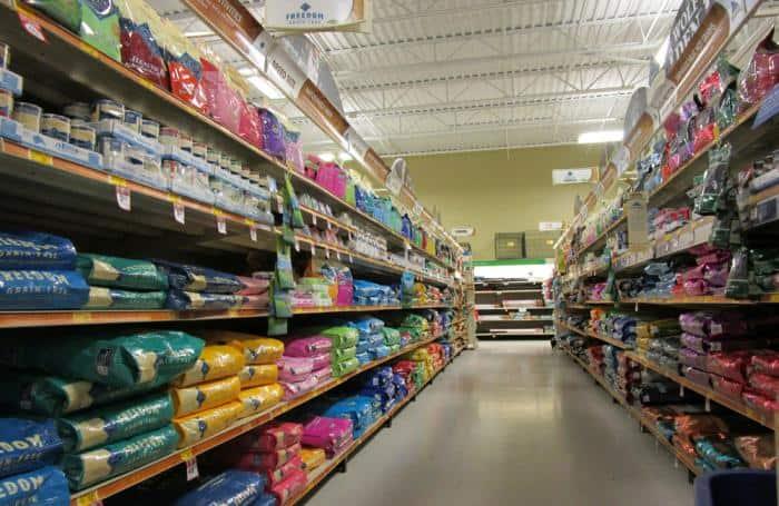 coles pet food brands