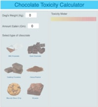 Chocolate toxicity Calculator
